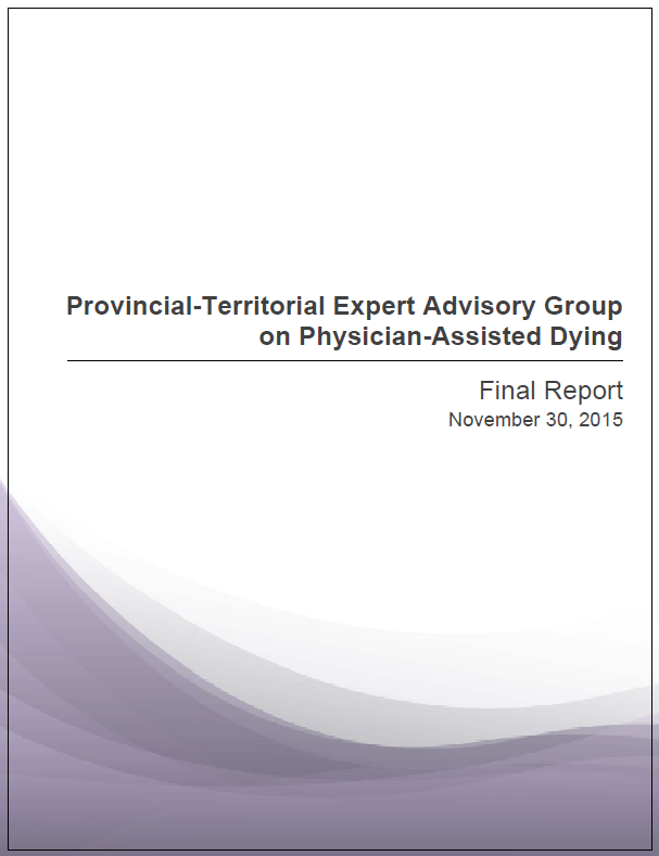 Provincial Territorial Expert Advisory Group Report